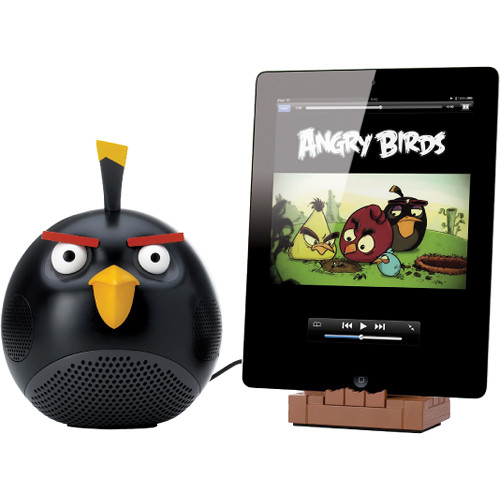 GEAR4 Angry Birds Black Bird Speaker