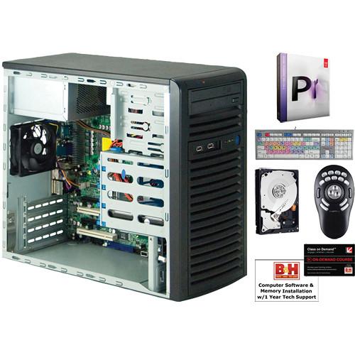 B&H Photo PC Pro Workstation SuperMicro / Adobe Premiere Pro CS5 5  Mid-Level Turnkey Video Editing System