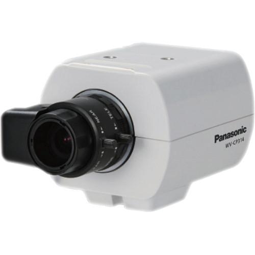 Panasonic (WV-CP314) WV-CP300 Series 650 TVL Day/Night IR Dual Voltage Fixed Camera (No Lens)