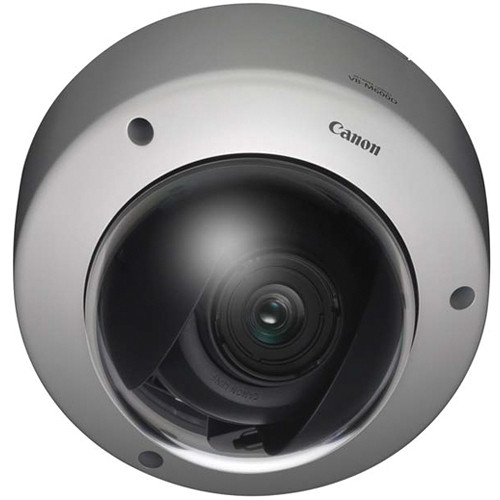 150° Tilt 3x Optical Zoom Canon VB-M600D Fixed Network Dome Camera 350° Pan