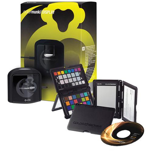 X-Rite ColorMunki Display and ColorChecker Passport Bundle