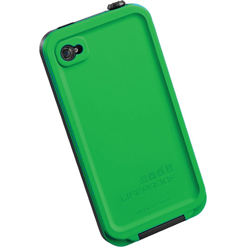 best website c2390 b55fc LifeProof iPhone Case for the iPhone 4S/4 (Green)