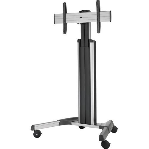 Chief (LPAUS) LPAU Large FUSION Manual Height Adjustable Mobile Cart (Silver)