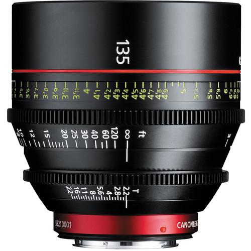 Canon CN-E 135mm T2.2 LF Cinema Prime Lens (montura EF)