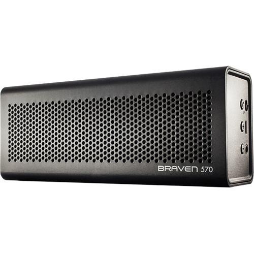 Braven 570 Bluetooth Wireless Speaker (Black) BZ570BBP B&H Photo