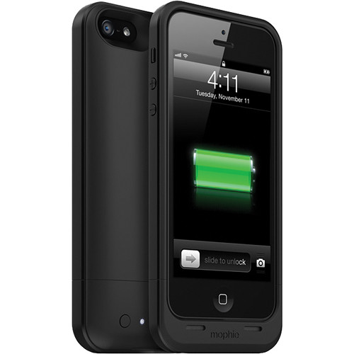 info for faf32 178f9 mophie juice pack air for iPhone 5/5s/SE (Black)