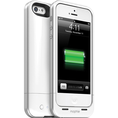 differently fa37a 7919c mophie juice pack air for iPhone 5/5s/SE (White)