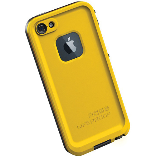new concept d82bd 3ba29 LifeProof frē Case for iPhone 5 (Yellow / Black)