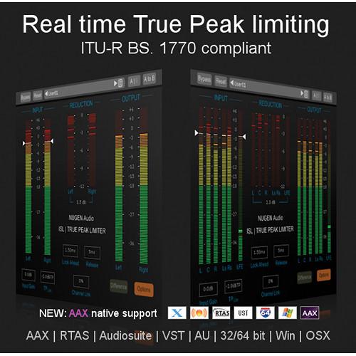 NuGen Audio ISL 2 - Real Time True Peak Limiter Plug-In 11-33085