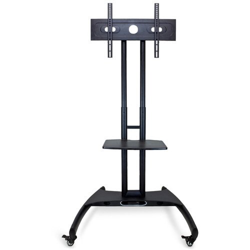 Luxor (FP2500) FP2500 Adjustable Height LCD TV Stand andMount with Accessory Shelf