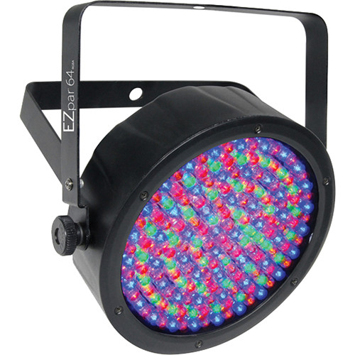 Chauvet DJ EZpar 64 RGBA Battery-operated, cable-free RGBA LED Par Washlight (Black)