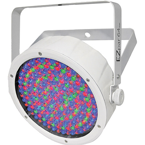 Chauvet DJ EZpar 64 RGBA Battery-operated, cable-free RGBA LED Par (White)