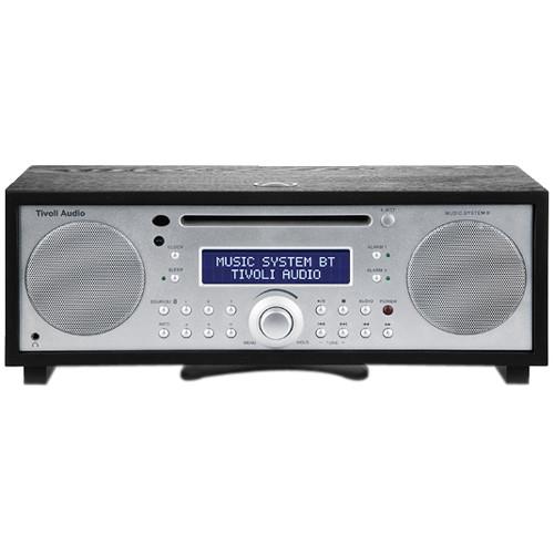 Black Tivoli Music System BT HiFi System