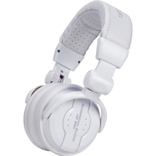ADJ American Audio HP 550 Pro DJ Headphones (Snow)