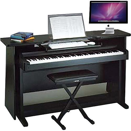 Omnirax Surround Desk For Digital Piano With Music Stand Mcp3 B
