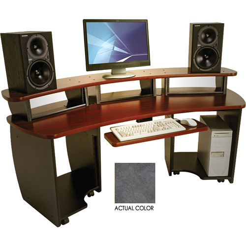 Omnirax (OMNI-SC) OmniDesk Audio / Video Workstation (Storm Cirus)