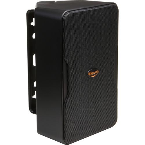 Klipsch (1016297) CP-6 Indoor & Outdoor Speakers - Pair (Black)