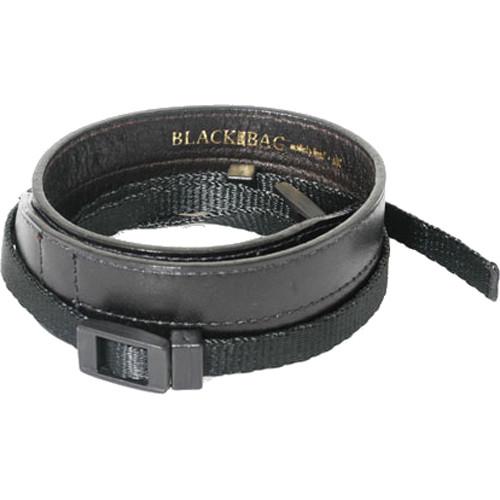 Black Label Bag Neckpad Strap Black