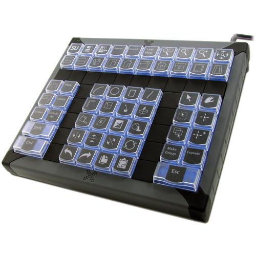 (XK-0979-UBK60-R) X-Keys XK-60 USB Programmable Keyboard