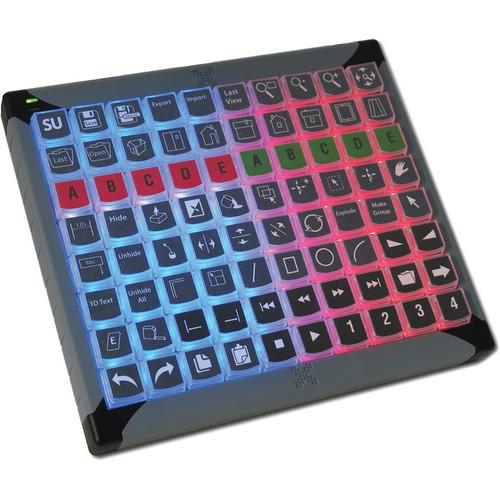 X-keys (XK-0980-UBK80-R) XK-80 USB Programmable Keyboard