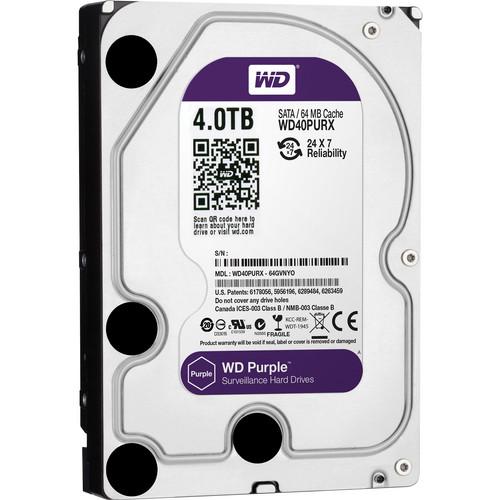 Western Digital WD40PURX 4TB Internal Hard Drive