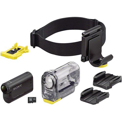 Sony Hdr As15 Action Cam Kit With Goggle Mount And 8gb