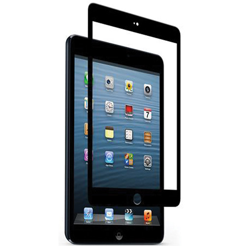 Moshi iVisor Glass Screen Protector for iPad mini (Black)
