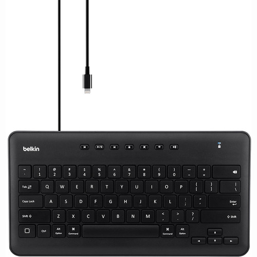 Belkin (B2B124) Secure Wired Keyboard for iPad with Lightning Connector