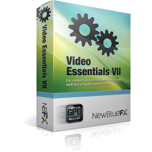 NewBlueFX Video Essentials VII (Download)