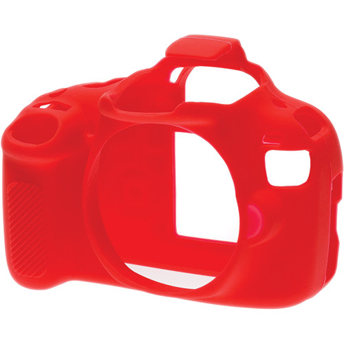 Easycover Silicone Protection Cover For Canon Eos Rebel T5 Red