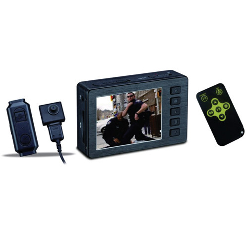 KJB Security Products (DVR520) HD DVR with Button Camera Set