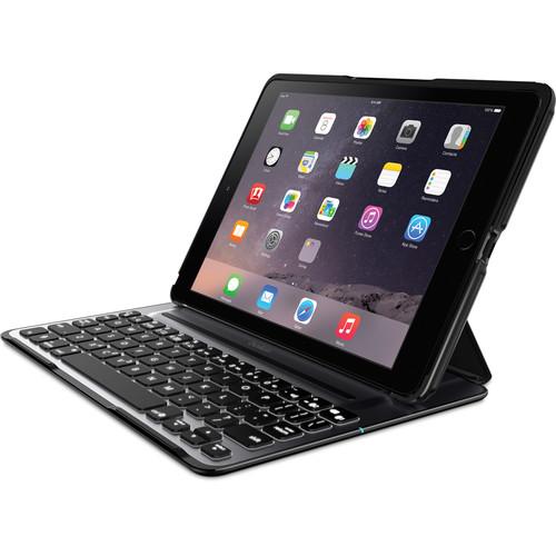 Belkin (F5L176TTBLK) QODE Ultimate Pro Keyboard Case for iPad Air 2 (Black)