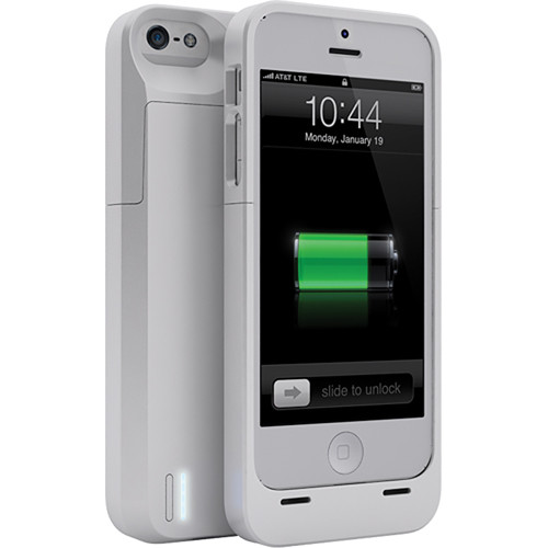 brand new 98c41 970ef uNu DX Extended Battery Case for iPhone 5/5s (White)