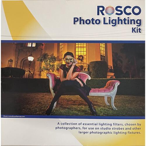 Rosco Photo Lighting Filter Kit 12 X