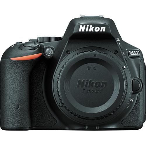 Nikon D5500 24.2MP FHD DSLR Camera Body Bundle