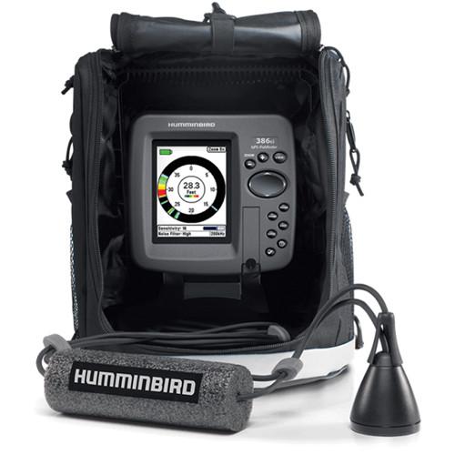 Humminbird ICE 386ci Combination GPS/Sonar Fishfinder