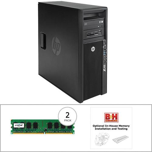 HP Z420 Series F1L09UT Turnkey Workstation with 32GB RAM