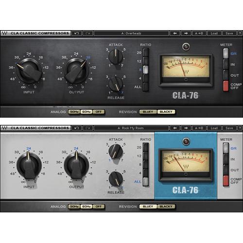 Waves CLA-76 Compressor/Limiter - Dynamics Plug-In (Native/SoundGrid,  Download)