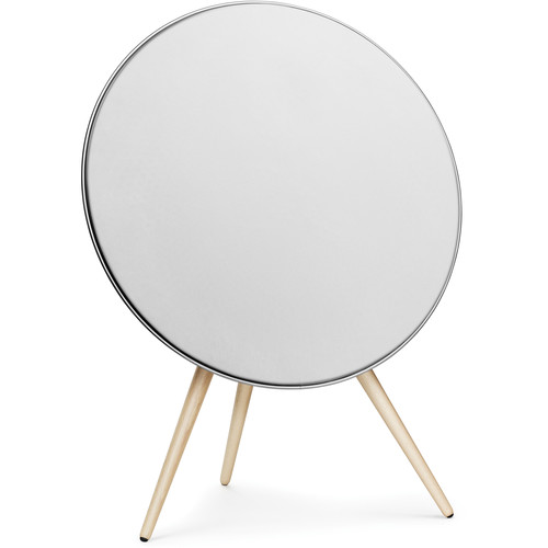 Bang & Olufsen (1200232) Beoplay A9 One-Point Music System with Maple Legs (White)