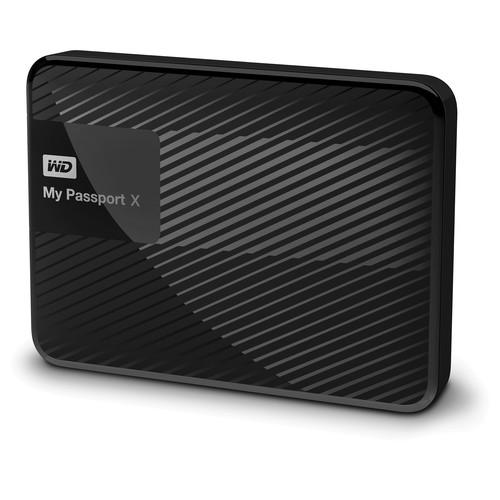 WD My Passport X 2TB USB 3.0 Portable Hard Drive