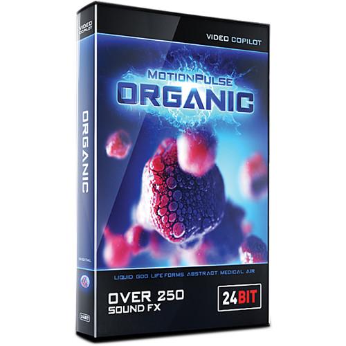 Video Copilot MotionPulse Organic Pack - Organic Sound Effects (Download)