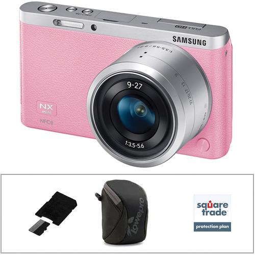 2 Pack Samsung NX Mini Mirrorless Digital Camera Memory Card 2 x 32GB microSDHC Memory Card with SD Adapter