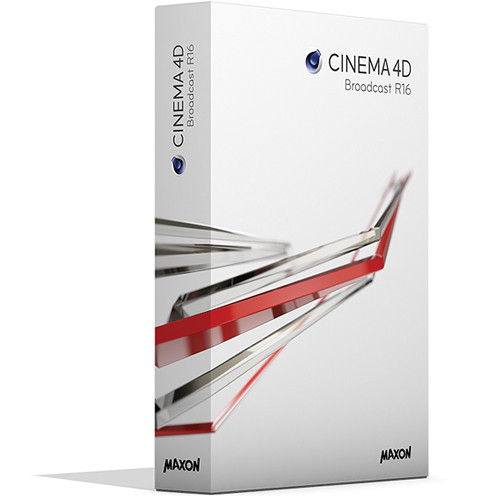 Maxon CINEMA 4D Broadcast R16 (Download)