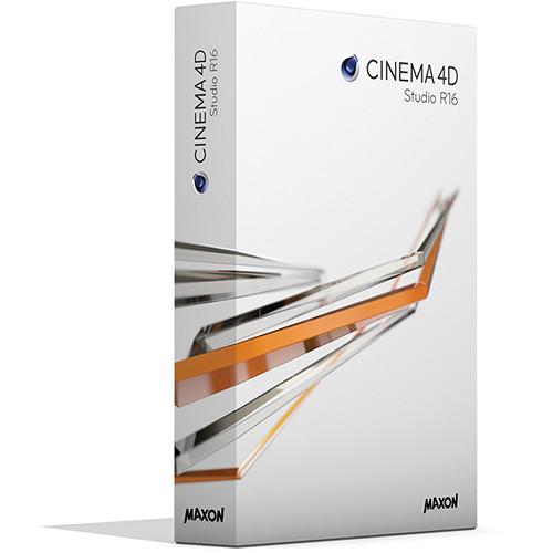 Maxon CINEMA 4D Studio R16 Upgrade from Studio R13 (Download)