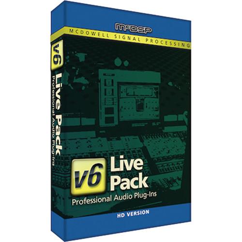 McDSP Live Pack v5 Upgrade to Live Pack HD v6 (Download)