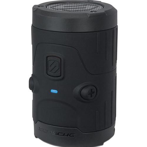 Scosche (BTH2OBK) boomBOTTLE H2O Waterproof Bluetooth Wireless Speaker (Black)