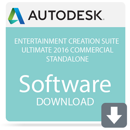 Autodesk Entertainment Creation Suite Ultimate 2016 Commercial Standalone  (Download)