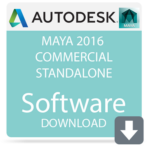 Autodesk Maya 2016 Commercial Standalone (Download)