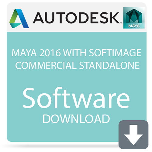 Autodesk Maya 2016 with Softimage Commercial Standalone (Download)
