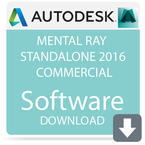 Autodesk mental ray Standalone 2016 Commercial Network License (Download)